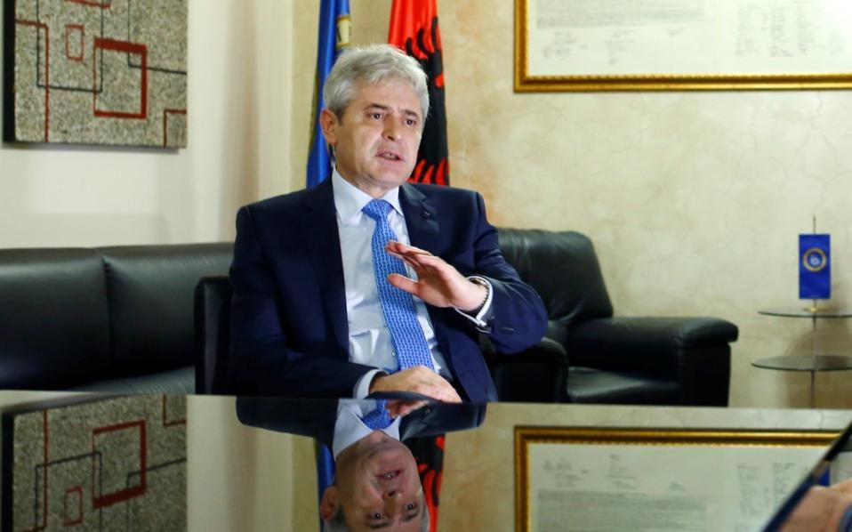 Ahmeti defies the rebels in his own party, will not change any of the proposed ministers