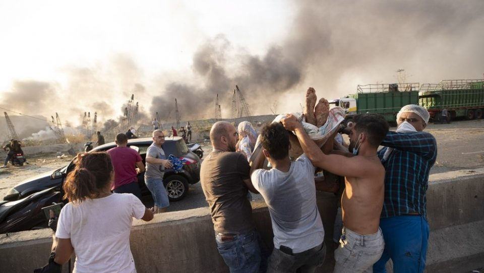 Dozens killed in an enormous explosion in Beirut
