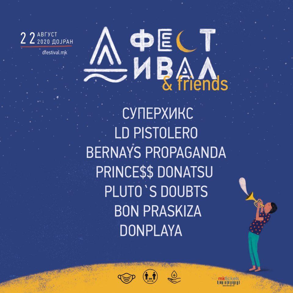 D Festival begins in Dojran