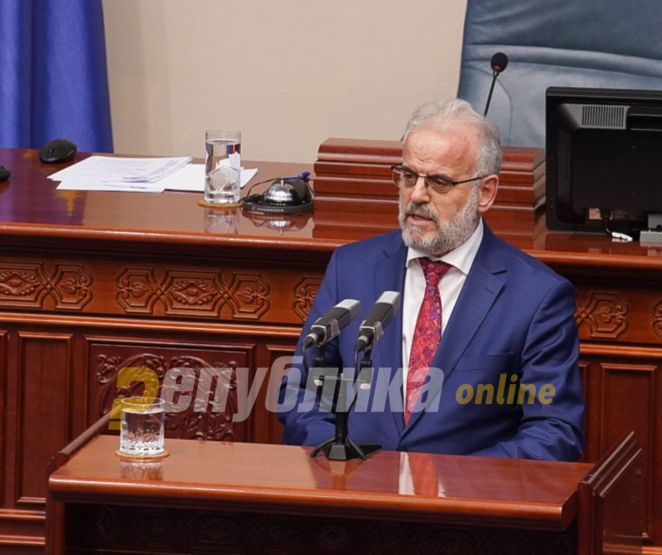 Xhaferi cancels the session of Parliament which would've revealed if Zaev has the necessary majority