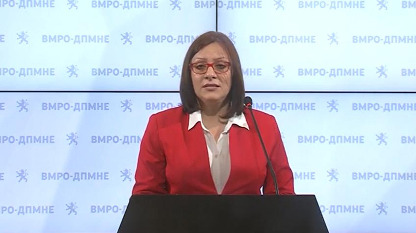 Dimitrieska Kocoska: Closure of Eurostandard Bank serious blow to over 55 thousand retirees and recipients of social welfare