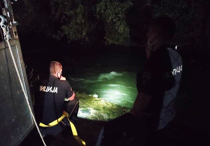 Girl from Gostivar drowns and a man who tried to help her missing in the Vardar river
