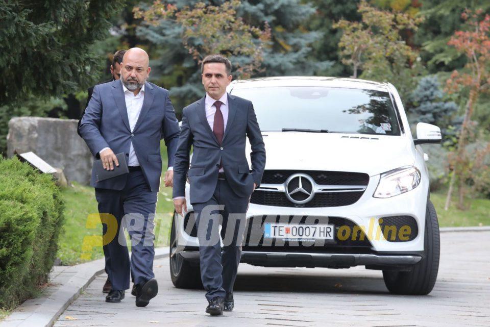 Kasami refused Ahmeti's invitation