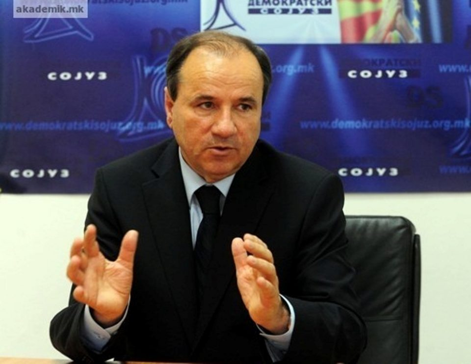 Pavle Trajanov: Request for Albanian Prime Minister unacceptable, the party that will accept such blackmail should be removed from the political stage