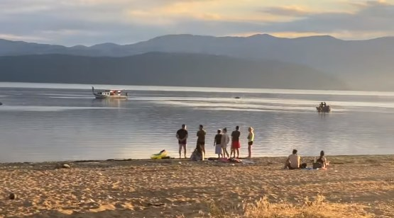 Rescuers found the body of 16 year old boy who drowned in lake Prespa