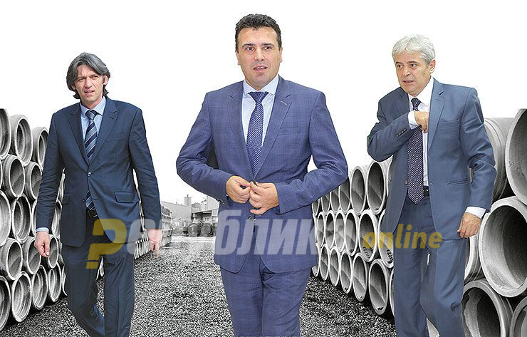Zaev sees Ahmeti's pan-Albanian gathering as a form of pressure against him