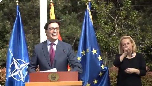 Pendarovski says he will give the mandate by Friday