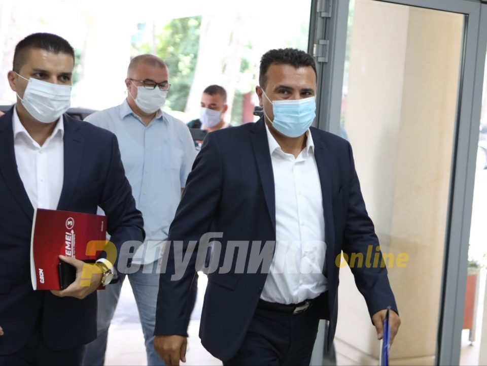 Zaev says he will wait for the Parliament to elect deputy speakers before asking for a vote on his government
