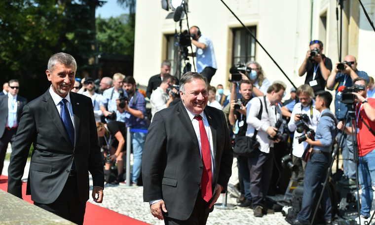 V4: US Secretary of State in Prague at start of Central Europe visit