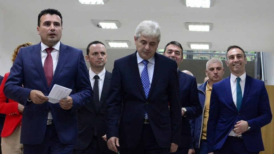 Zaev and Ahmeti meet at 14h to finalize their deal