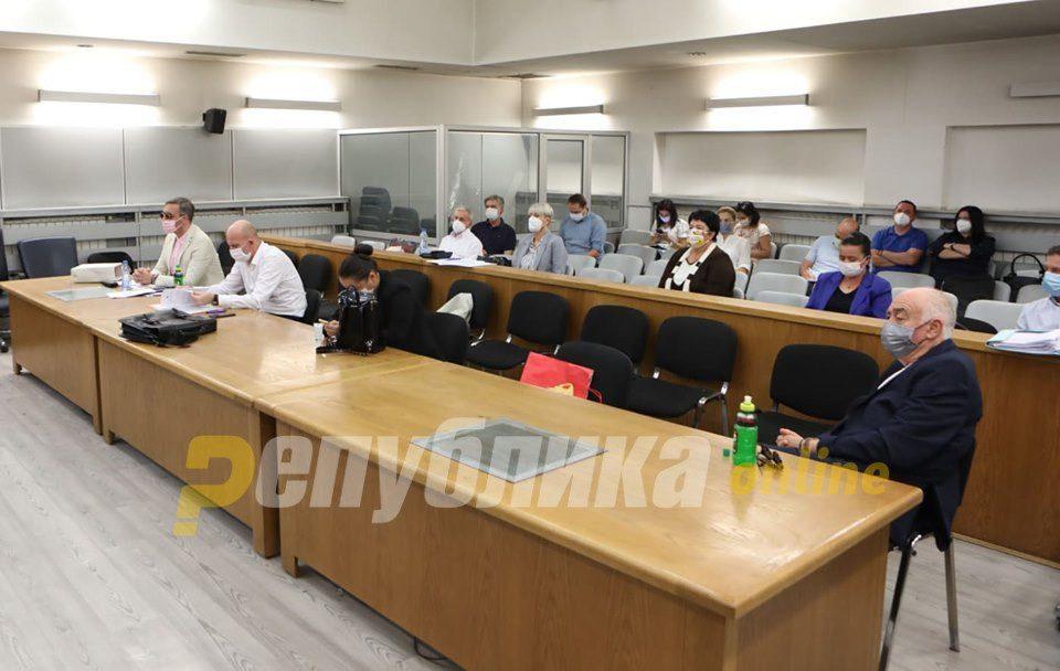 """Trial in """"International Association"""" case postponed because Boki is in hospital"""