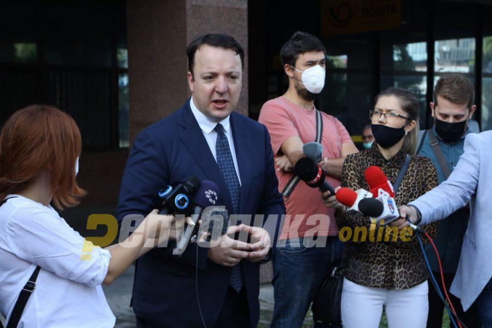 Nikoloski: Zaev will not silence VMRO-DPMNE