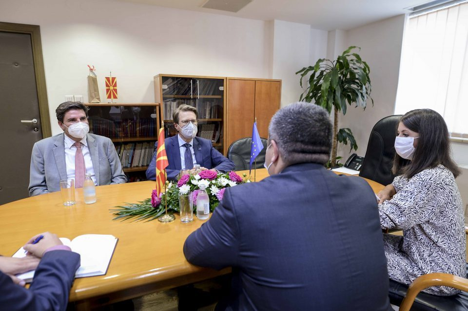 Maricic -Žbogar meeting: EU will be involved in all judiciary reforms