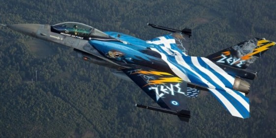 Greece to police Macedonia's airspace with F-16 fighter jets and for 35,000 euros a year