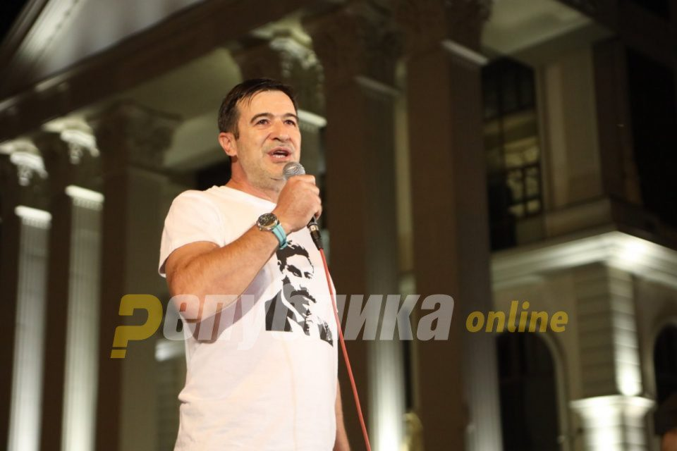 Pandov: We are that Goce race, the mafia in power wants to sell the most sacred thing