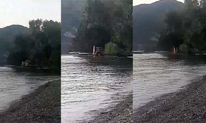 Useini brothers denied bail, their company denies digging sand directly out of lake Ohrid