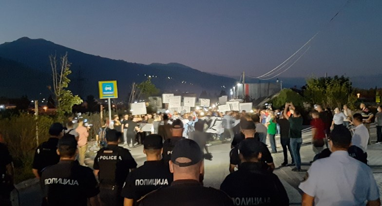 Mass protest against the energy price hike in Tetovo