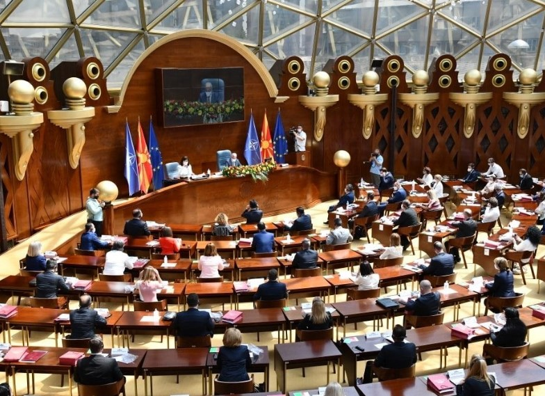 Milososki: SDSM and DUI are using the pandemic to cover up how unstable their majority in Parliament really is