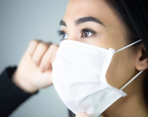 701 people caught without face masks