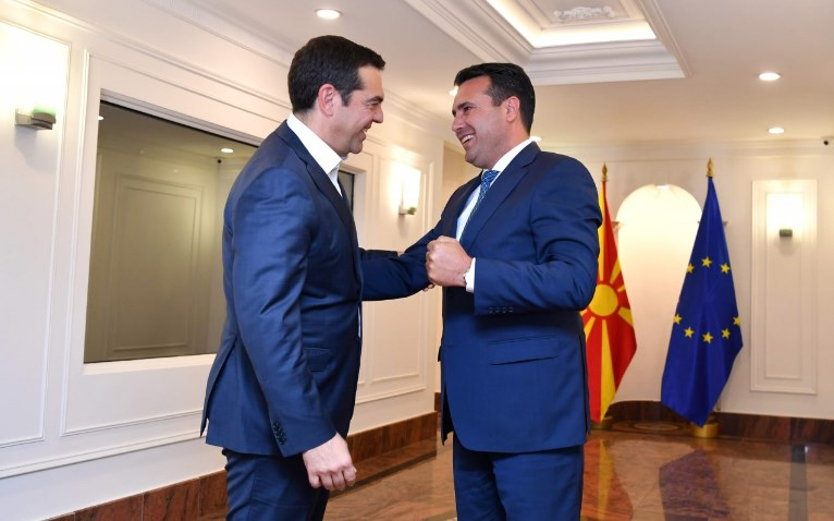 Zaev had dinner with Tsipras in Athens