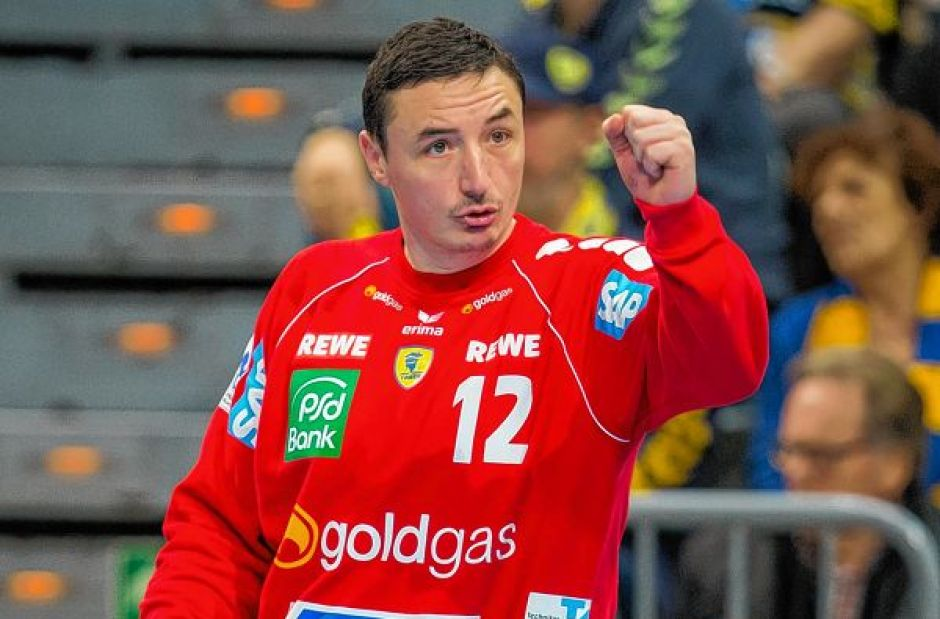 Great saves from Ristovski lead Vardar to the finals of the handball SEHA league