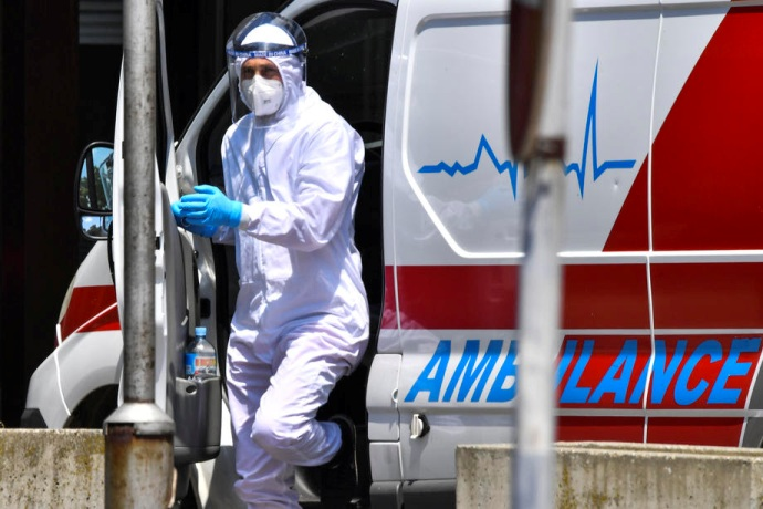Five deaths and 183 newly diagnosed patients over the past 24 hours