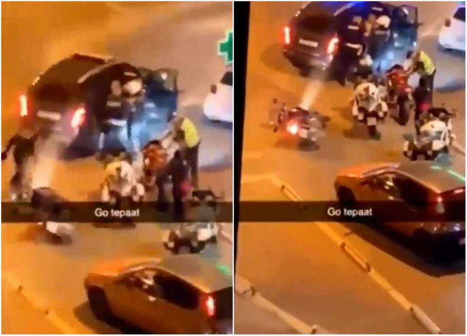 Second police brutality incident reported in one day