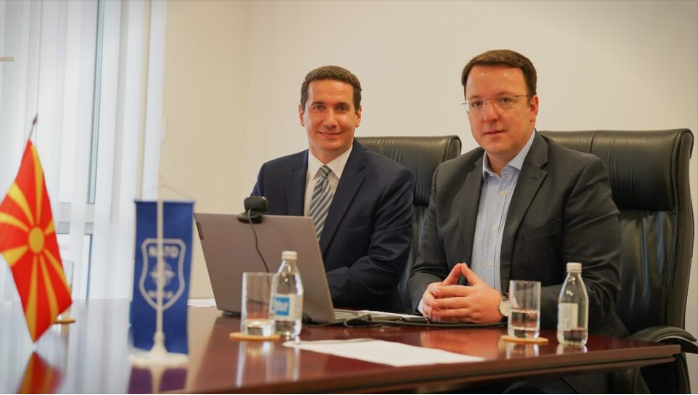 VMRO officials discussed the abuses of power in Macedonia during the EPP party political assembly