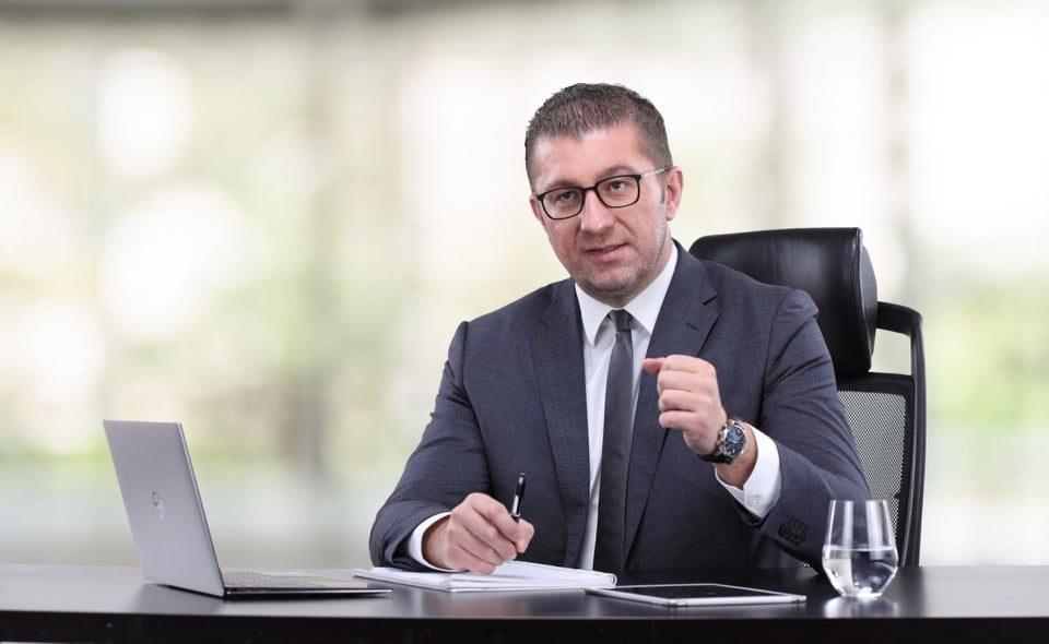 VMRO will bring the Government down through mass protests, Mickoski tells Deutsche Welle
