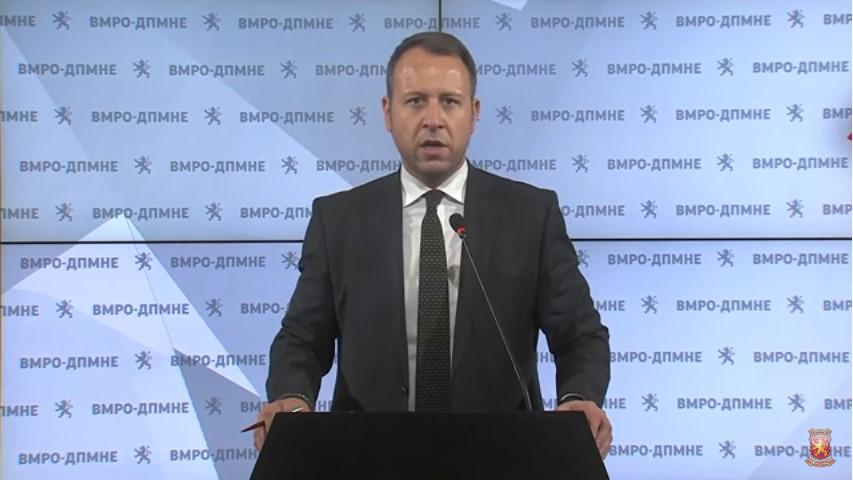 Janusev: 6.2 million euros state tender for financier of SDSM, tomorrow protest in front of Regulatory Commission