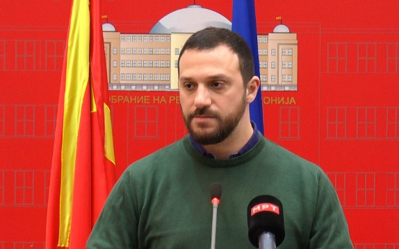 Bogoevski admits he backed amendments to Criminal Code so that MP Avirovic could vote for name change