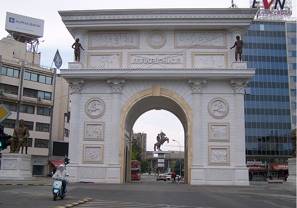 Zaev's Government wants to demolish the Macedonia Gate