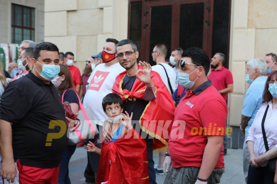 VMRO-DPMNE warns: We have information about infiltration of individuals instructed by the government to discredit the protest
