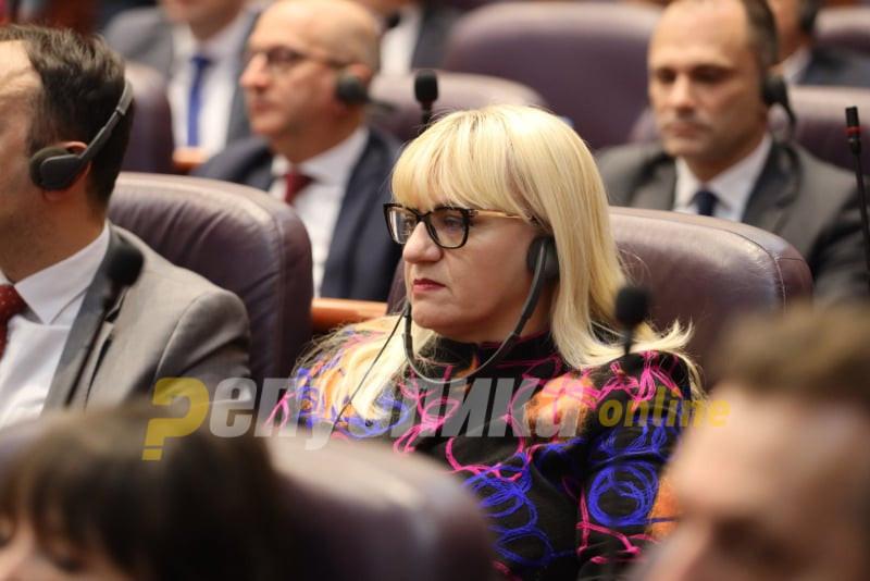 Former Justice Minister Deskoska condemns the attempt to humiliate Gordana Jankuloska
