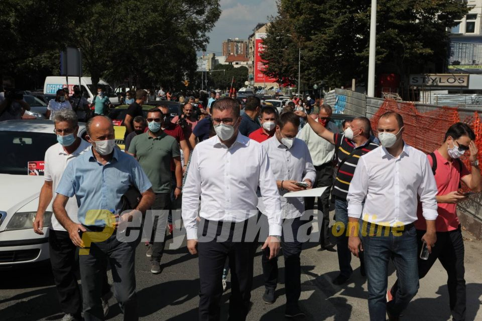 Mickoski: We will protest until we remove the mafia from power