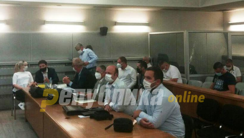 Court does not accept a recording featuring a conversation between Janakieski and Gruevski