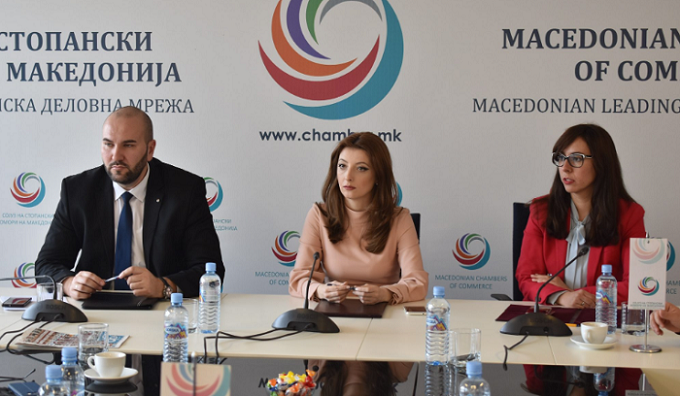 Macedonian Chambers of Commerce proposes 25 economic measures, calls on government to implement them