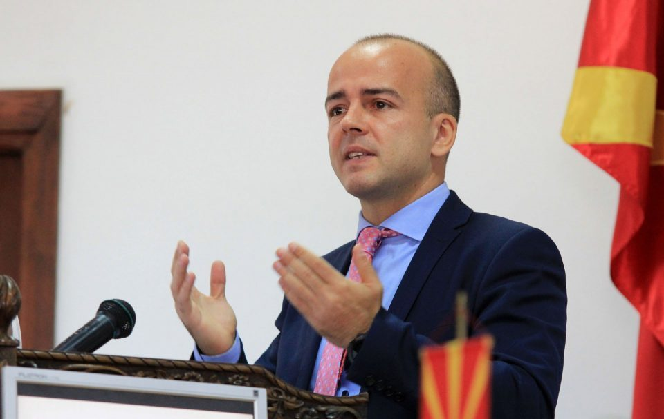 Former Finance Minister Tevdovski leaves Macedonia, takes up a job in D.C.