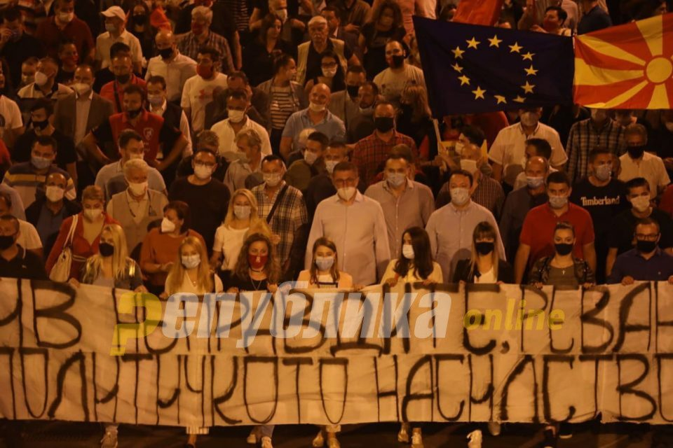 VMRO-DPMNE to stage Saturday a new protest against the injustice and the ruling mafia