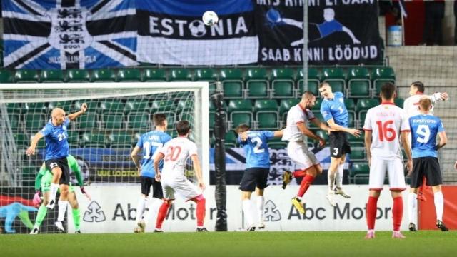 Football: Macedonia underestimated Estonia, was lucky to avoid defeat in Tallinn