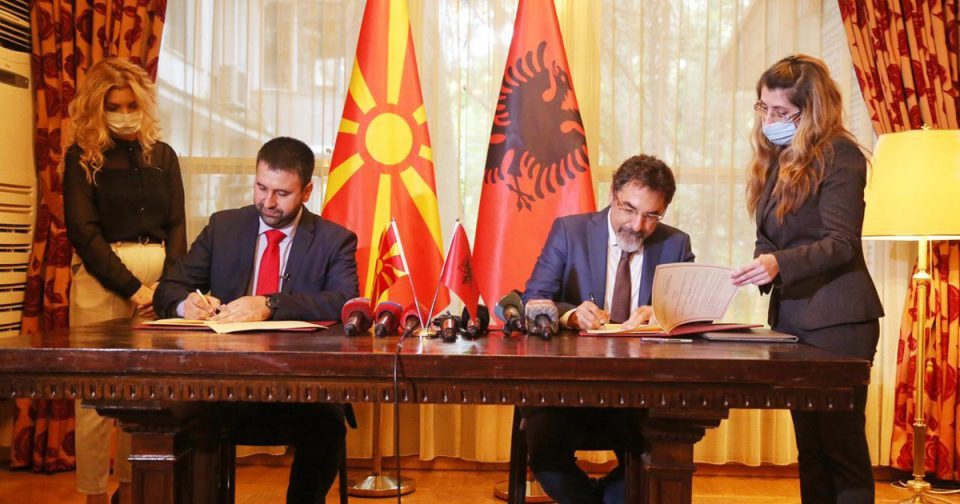 Macedonia and Albania sign agreement on phytosanitary cooperation