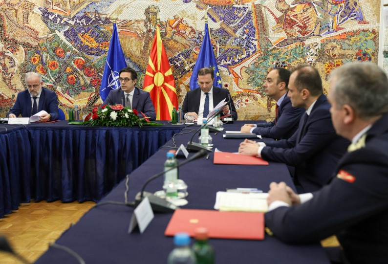 Macedonia's Security Council set to discuss COVID-19 situation
