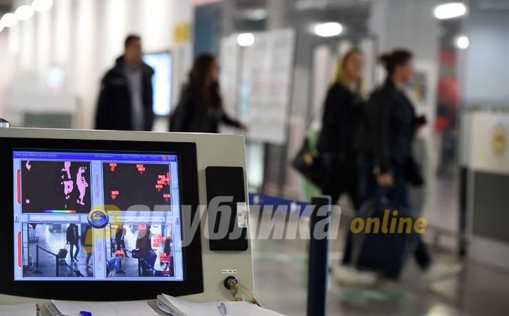 Six coronavirus positive patients stopped at the Skopje airport last week