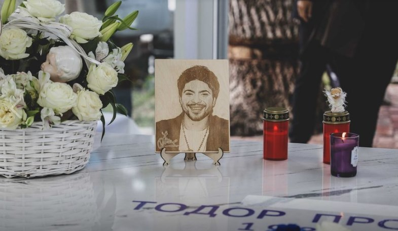 Memorial to Tose Proeski finished on the 13th anniversary of his tragic death