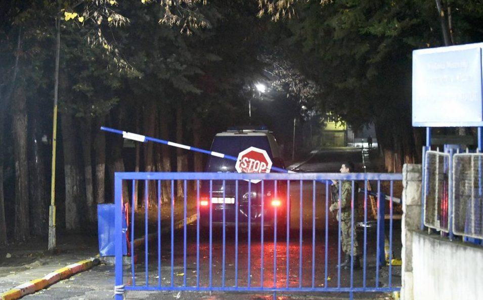 Sutka prison employee slashed by a prisoner