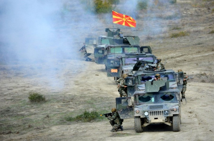 Macedonia's Army in first mission since country's NATO accession