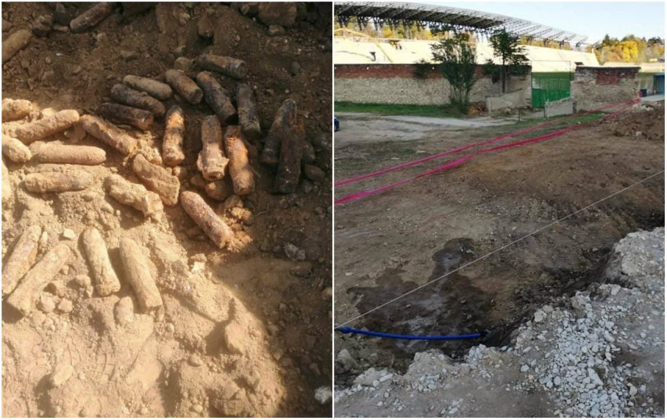 Huge stockpile of WW1 artillery grenades found in Bitola