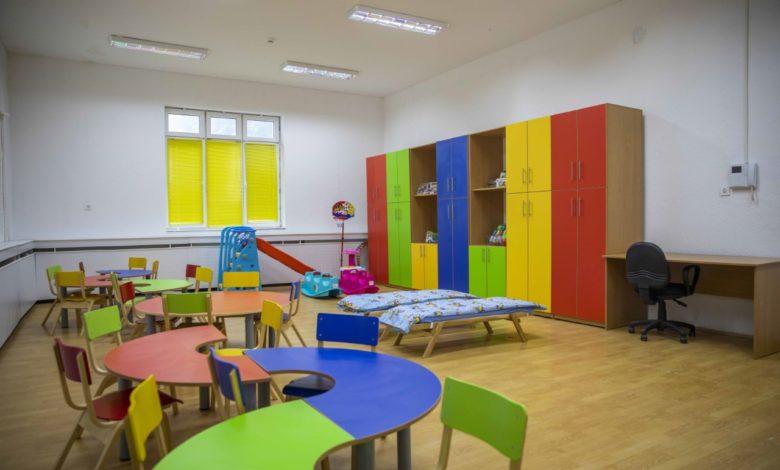 Coronavirus outbreak in a kindergarten in Skopje