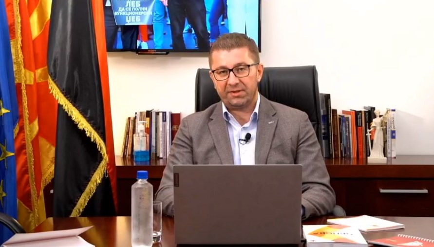Follow live: Mickoski answers citizens' questions on Facebook