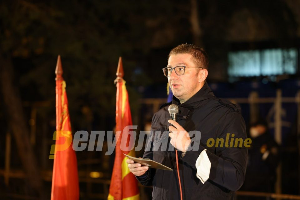 Mickoski: Parliament refused VMRO proposal to suspend rent payments for people fired due to the coronavirus